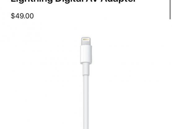HDMI lightning orginal Apple adapter