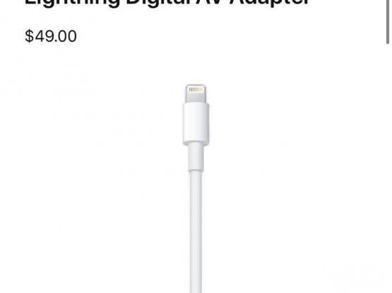 HDMI Apple adaptor