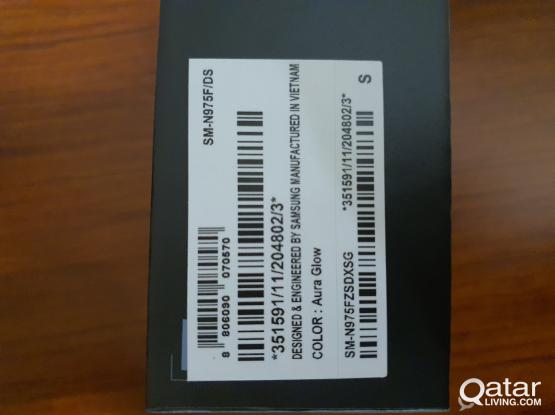 Samsung Galaxy Note 10 + plus