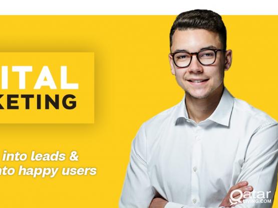 Social media marketing campaign and digital market