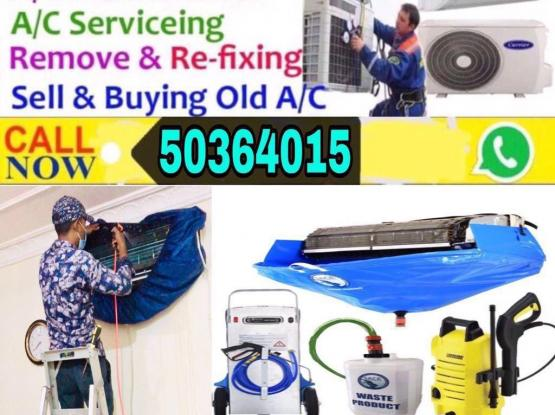 A/C Servicing •Repairing •Cleaning•Call 50364015