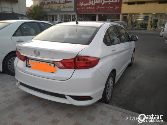 BRAND NEW CAR FOR RENT.HONDA CITY 2020 MODEL CAR AT JUST 1600 QR PER MONTH ONLY.CAL-50309511.