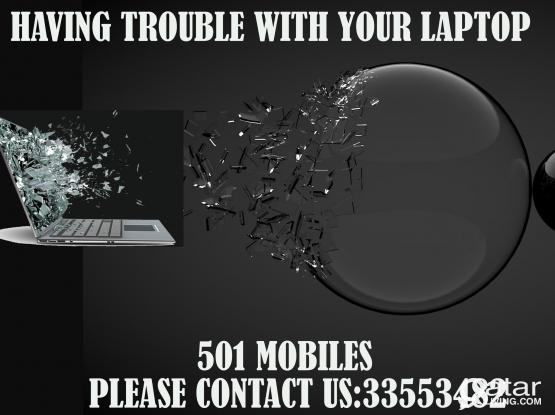 Laptop/Desktop/mobile  repairing and services.