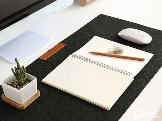 LARGE MOUSEPAD FOR GAMING & OFFICE!