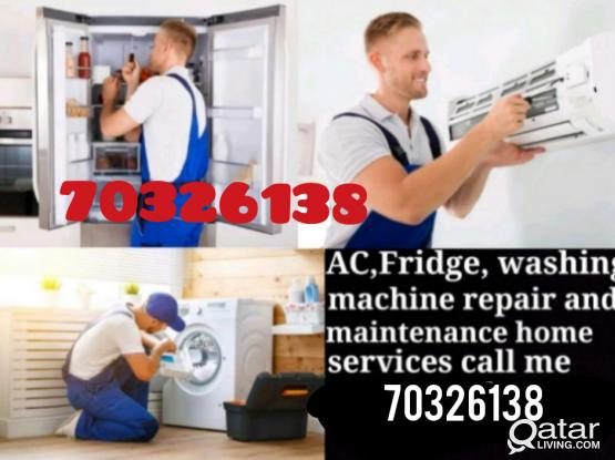 FRIDGE A/C AND WASHING MACHIN REPAIE☎ 70326138