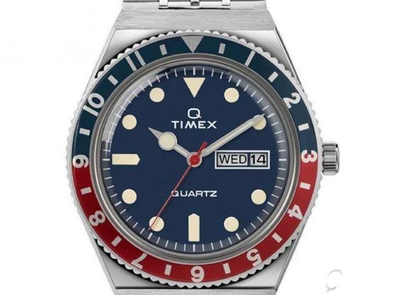 BRAND NEW SEALED Q Timex Reissue 38mm Stainless Steel Bracelet Watch