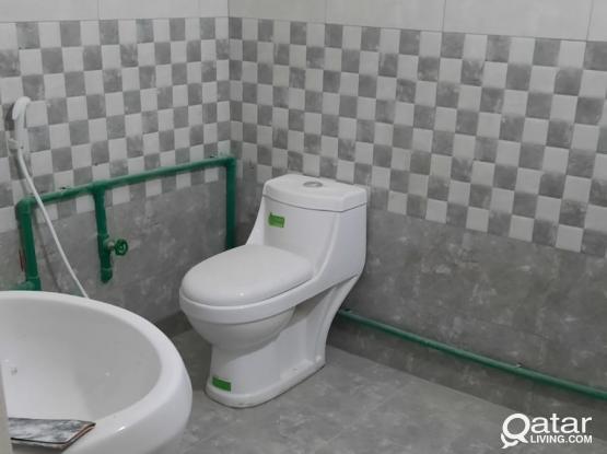ONE BEDROOM HALL  KITCHEN BATHROOM AVAILABLE NEAR AL KHEBRA  DRIVING SCHOOL NEAR ABUHAMOUR PETROL STATION ABUHAMOUR
