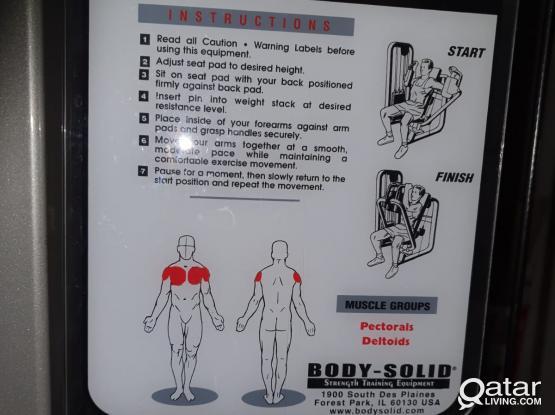 bodysolid Pec Machine