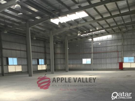 GENERAL WAREHOUSE FOR RENT IN INDUSTRIAL AREA 1700 SQMTR