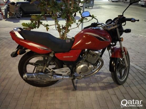 Suzuki Motorcycle IN 125 2011