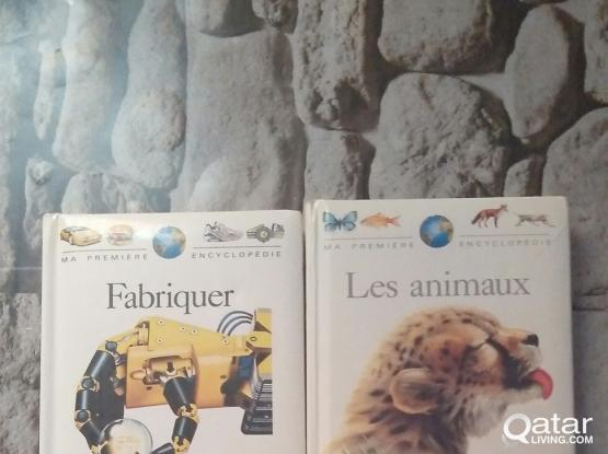 French encyclopedia for sale(4.books)