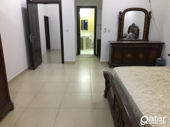 family big room furnished //un-furnished//  ground floor in thumama behind al-furjan market-34