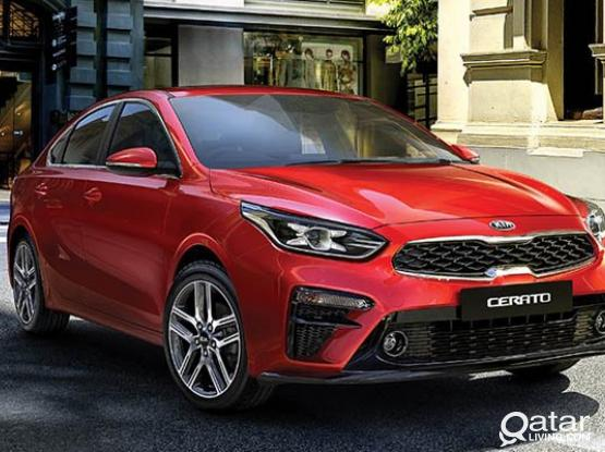 ➡️ KIA CERATO -2019 MODEL AVAILABLE FOR RENT  ! CALL US NOW :- 44182020/50399151