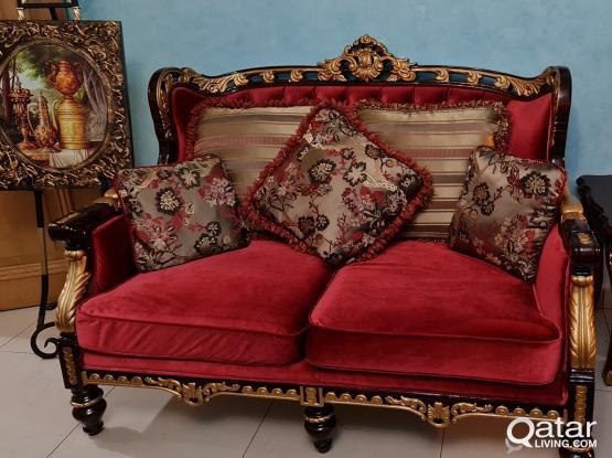 Sofa set 7 seater 3 +2 +2