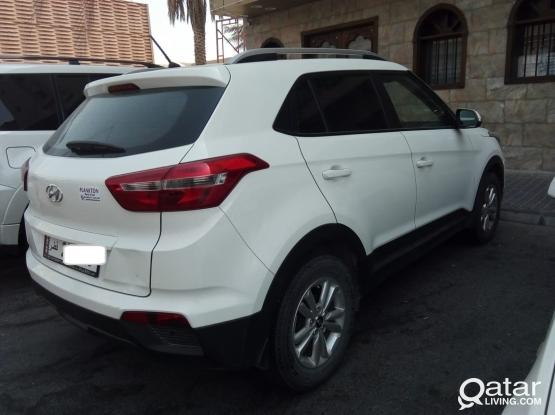 SUV # HYUNDAI CRETA  AVAILABLE FOR RENT - MONTHLY QR - 1900 # CALL : 44 44 12 43 / 555 70 470