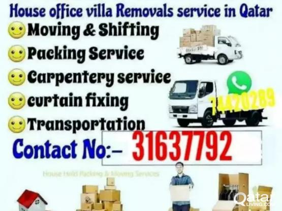 Moving..Shifting..Carpenter..Transportation service..call me-31637792