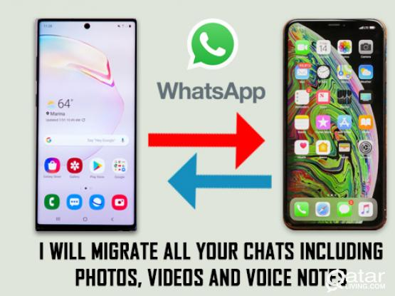 Move WhatsApp - Android/iPhone