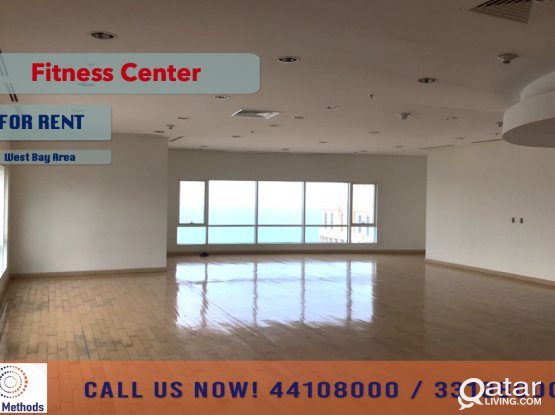 FITNESS CENTER & GYM AT WEST BAY AREA - FOR RENT