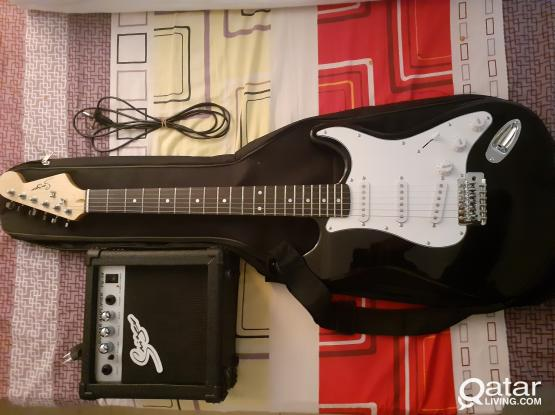 Branded Smiger Stratocaster Electric Guitar with accessories (Negotiable price)