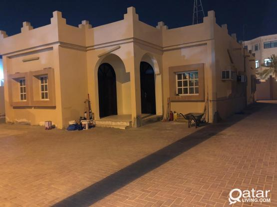 4 bhk Family Individual Villa Unfurnished for rent at behind QIB Alkhor