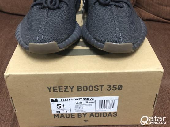 Brandnew Adidas Yeezy Boost 350 V2 Cinder US 5.5
