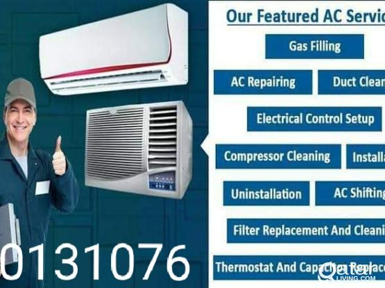 All type ac servicing, installation, remove fixing buy and sell.50131076