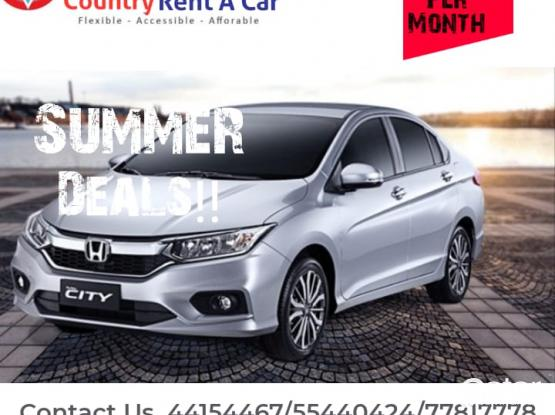 GRAT OFFER! CHEAPEST PRICES ! GOOD CONDITION CAR HONDA CITY 2017 MODEL  ONLY 1300 QR MONTH 5045 9447