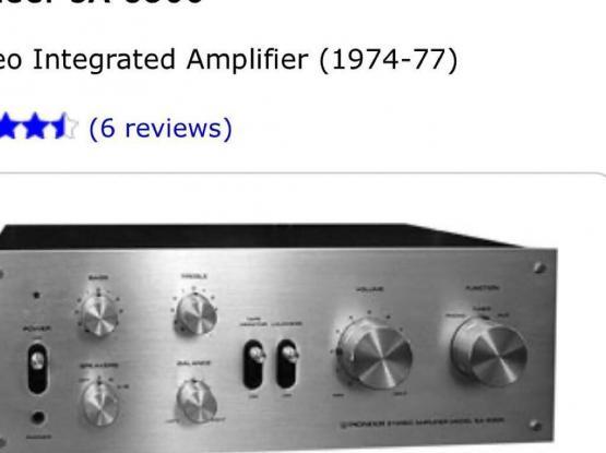 Pioneer Amplifier