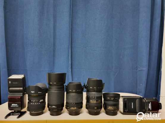 Nikon Lenses and Speedlites for Sale