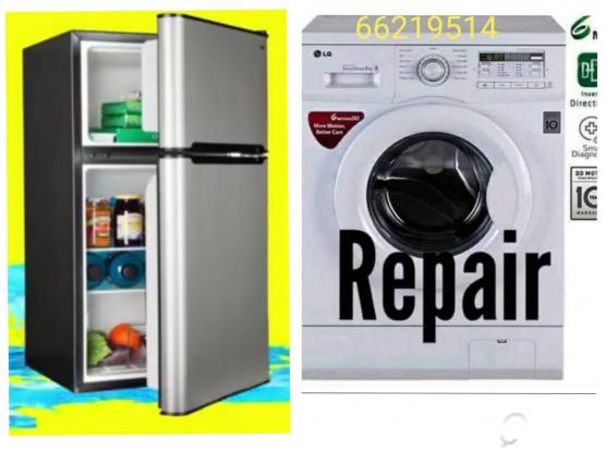 Washing machine, Fridge, AC service repair.Please call 66219514