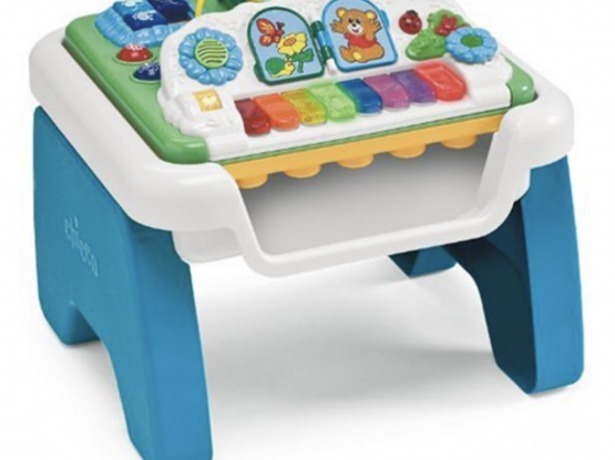 CHICO MUSIC N PLAY TABLE (New Price 544.00 QAR) WORKING ALL MUSIC TONES IN VERY GOOD CONDITION