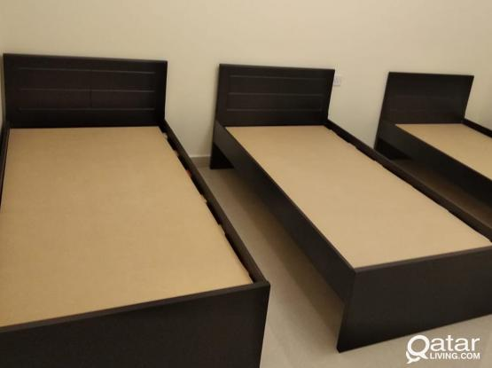 BRAND NEW WOODEN BEDS DELIVERY AVAILABLE - CALL OR WHATS APP - +97477850533