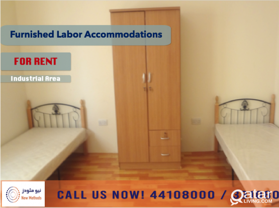 FURNISHED LABOR ACCOMMODATIONS AT INDUSTRIAL AREA - FOR RENT