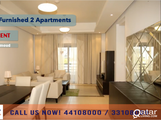 FULLY FURNISHED 2 BEDROOM APARTMENT AT BIN MAHMOUD - FOR RENT