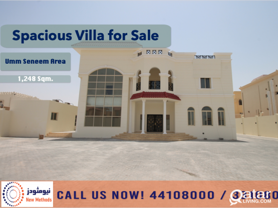 SPACIOUS VILLA AT UMM AL SENEEM AREA - FOR SALE