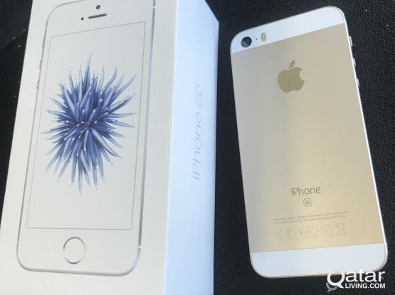 IPHONE SE GOLD 64 GB - 600 QR