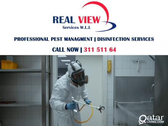PROFESSIONAL PEST CONTROL & DISINFECTION SERVICES | 311 511 64