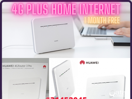 Vodafone Unlimited Internet 4G+ Huawei Router