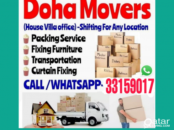 Doha moving shifting & packing service call whatsa
