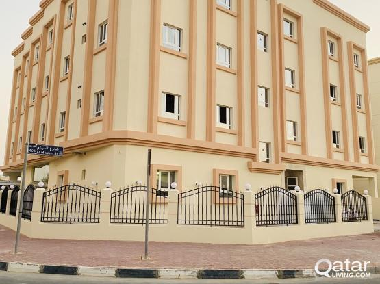 Brand new very spacious 2 BHK apartments full building available at Wakra for family only
