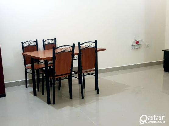 Fully furnished big studio  ground floor available behind commercial bank alkhor