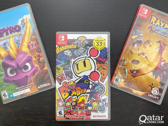 Brand New Nintendo Switch/Lite Games