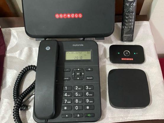 Wifi Router + Mifi Router + Tv Box +Landline Phone