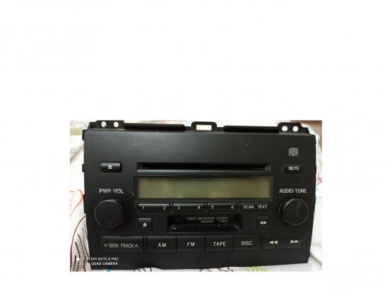 Original car  Audio System for toyota prado