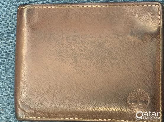 Used Brown timberland wallet