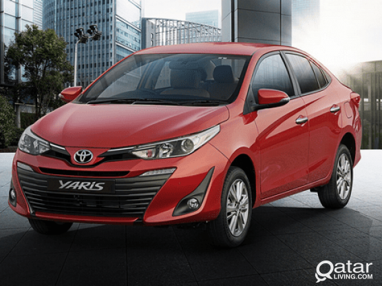 Toyota Yaris -2020 Model Available For Rent (Now 0 Km )!! Call Us Now : 44182020/50399151