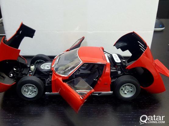 1:18 scale model car - Lamborghini Miura