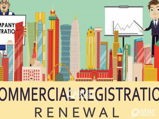 Company Registration   Commercial Register Renewal
