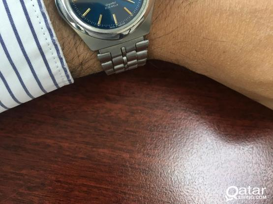 Orient day-date -Blue dial