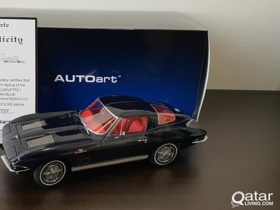 1:18 scale model car - Corvette Stingray